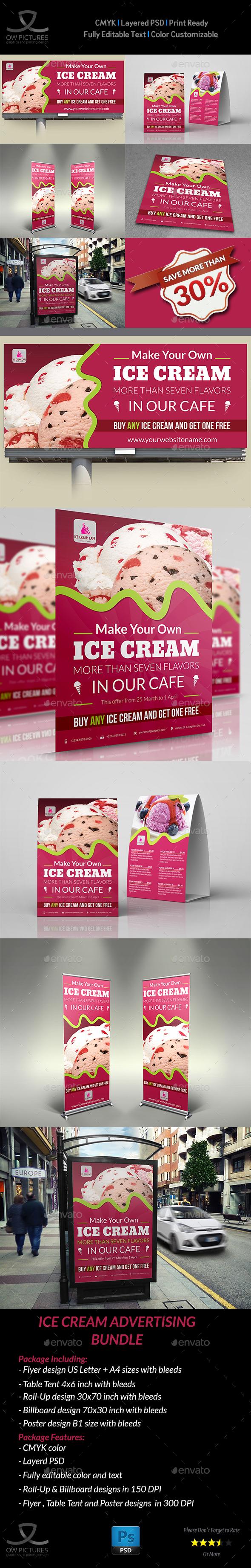 Ice Cream Advertising Bundle
