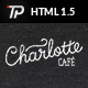 Charlotte - Café Bistro HTML Template Nulled