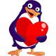 Valentine Penguin - GraphicRiver Item for Sale