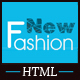 Fashion eCommerce Html Template Nulled