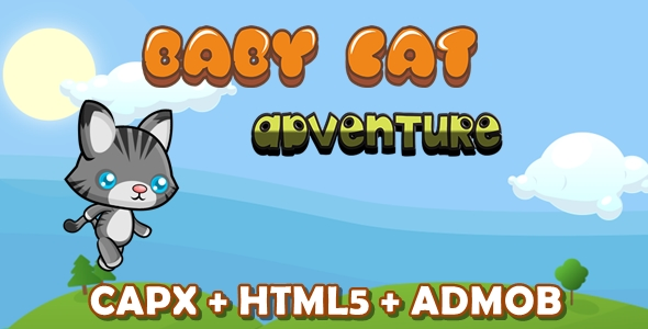 Baby Cat Adventure - CodeCanyon Item for Sale