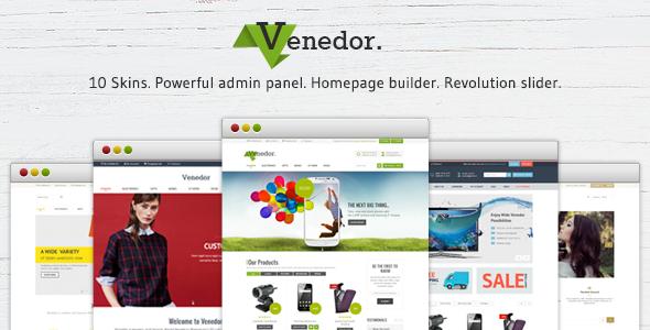 Venedor - Responsive Prestashop Theme