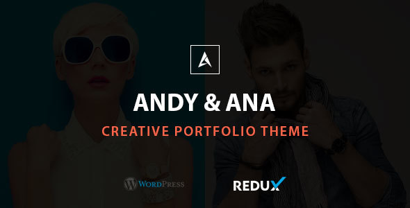 Andy & Ana Creative Portfolio Theme