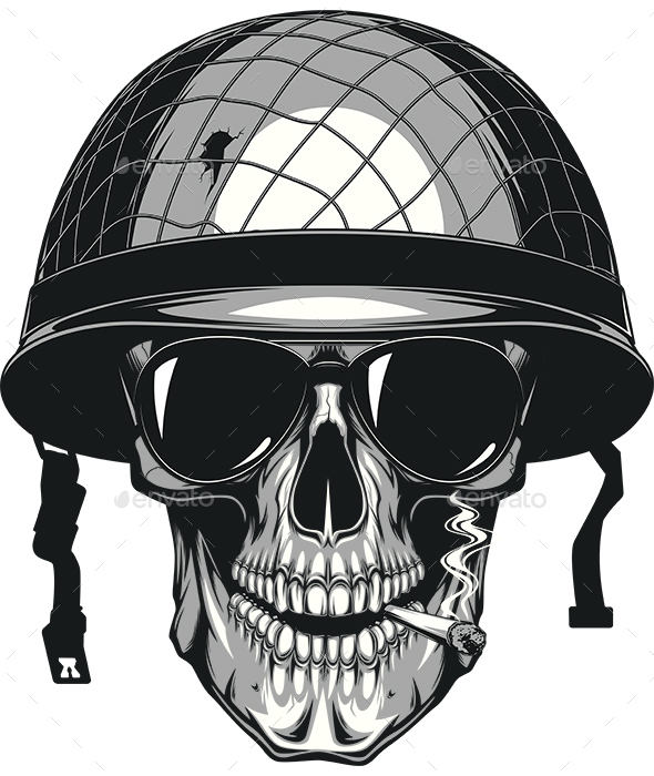 Skull Soldier - People Characters