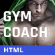 Personal Gym Trainer & Nutrition Coach Site Template - ThemeForest Item for Sale