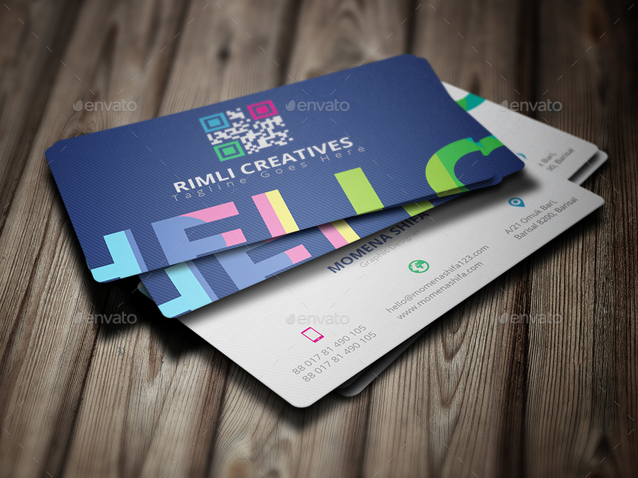 Elegant Business Card Design by Rumki | GraphicRiver