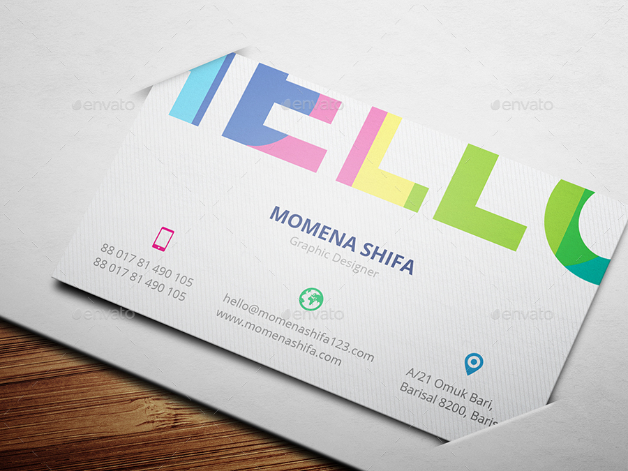 Elegant Business Card Design by Rumki | GraphicRiver