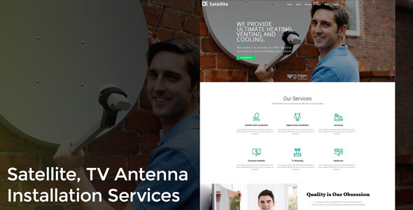 Satellite Antenna  – TV, Dish, Internet & Telephone Installation Services