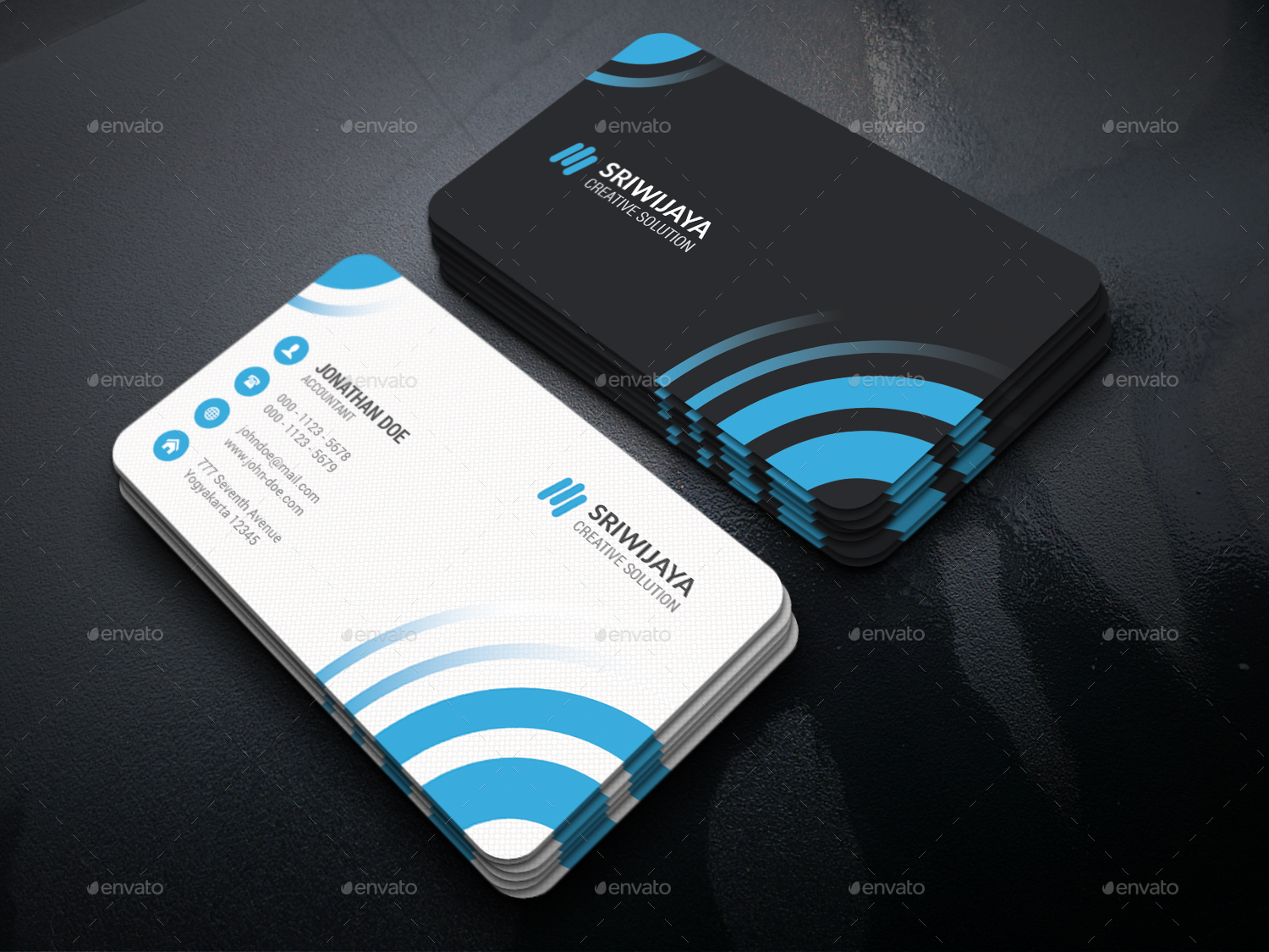 Professional Business Card Bundle by GOWES | GraphicRiver