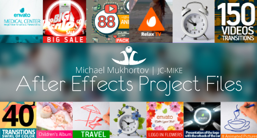JC-Mike - After Effects Project Files