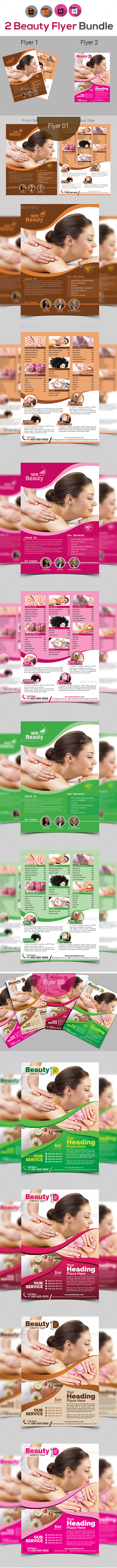 Spa & Beauty Flyers Templates - Corporate Flyers