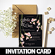 Botanical Wedding Invitation - GraphicRiver Item for Sale