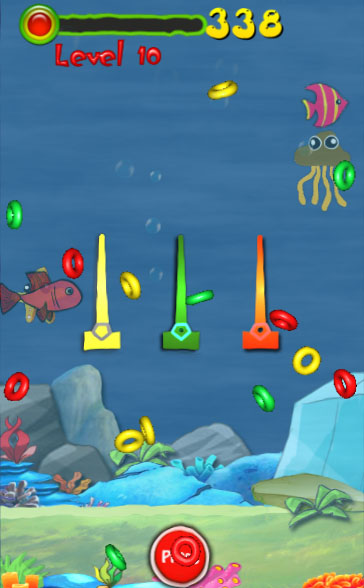 Water Ring Toss Unity3D project + Android iOS Game + Ready to put on stores