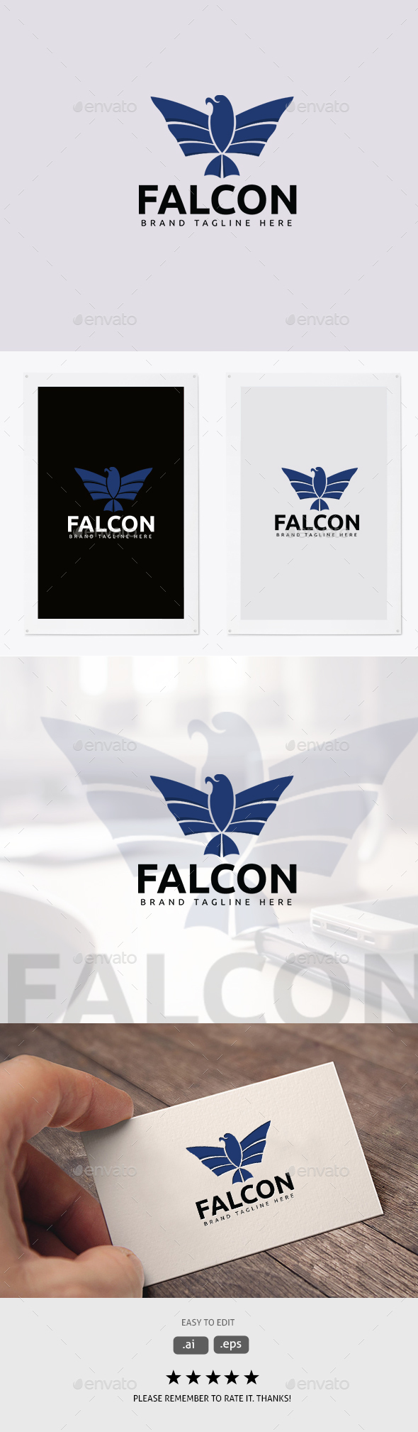 Falcon - Animals Logo Templates
