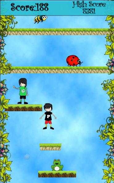Platform Jump Unity3D Game Source Code