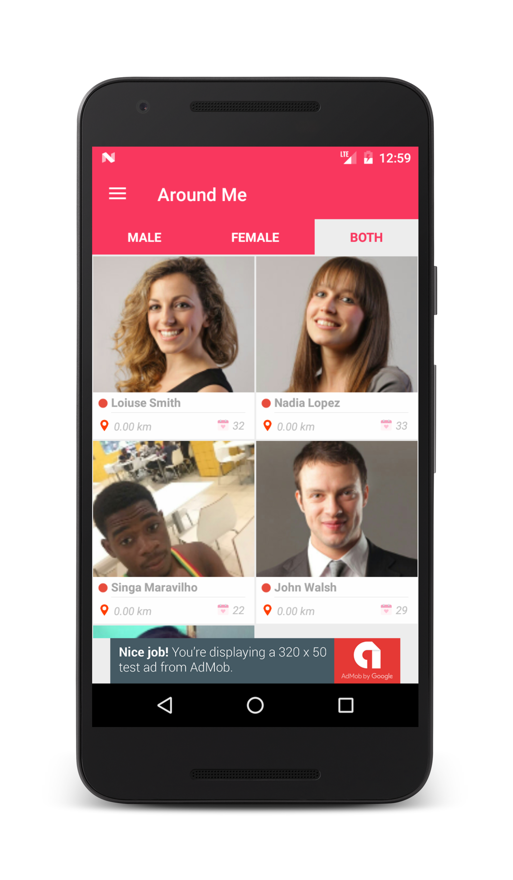 Dating app android