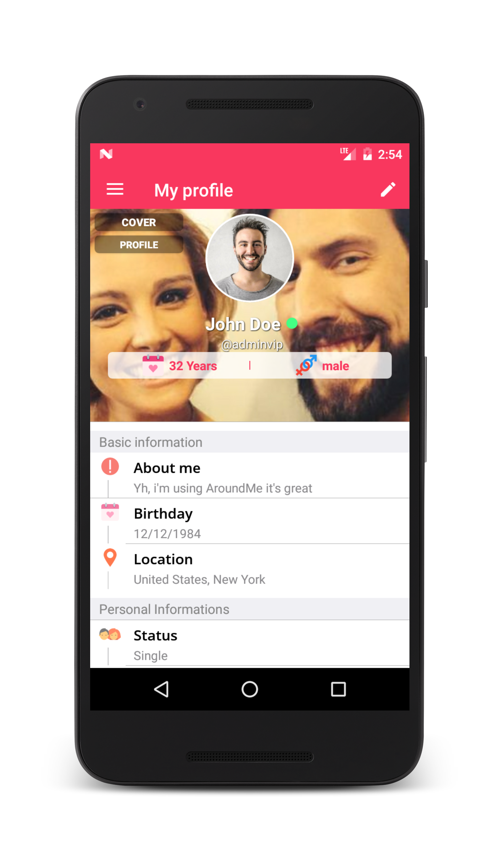 android-location-based-dating-app