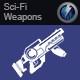 Sci-Fi Laser Rifle Bursts 4