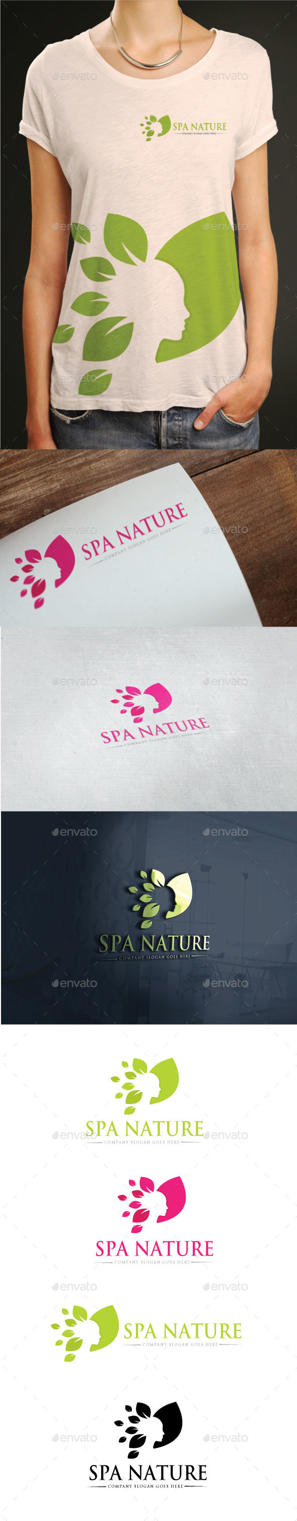 Spa Nature Logo - Humans Logo Templates