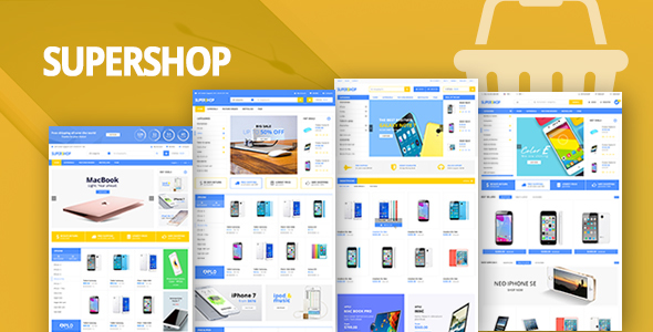 Supershop – WooCommerce Responsive Digital Theme