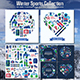 Winter Sports and Activity Set - GraphicRiver Item for Sale