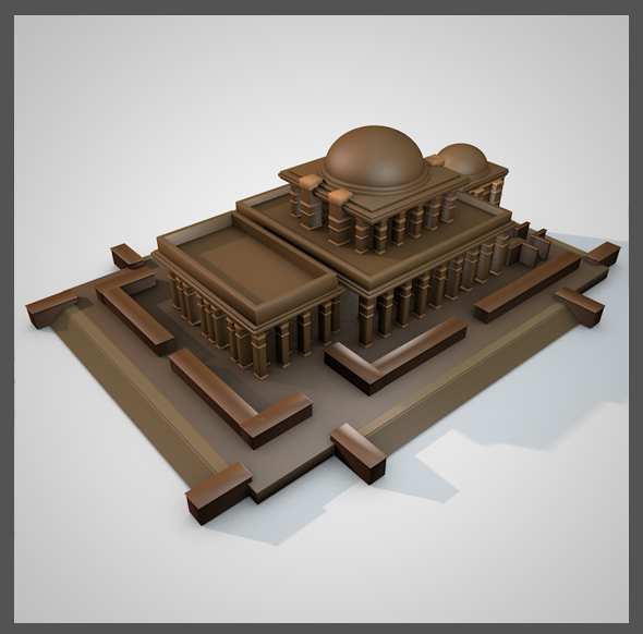 King Solomon's Temple - 3DOcean Item for Sale