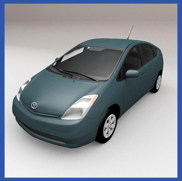 Toyota Prius 2004 - 3DOcean Item for Sale