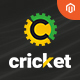 Cricket Magento 2.2.x Template With Pages Builder