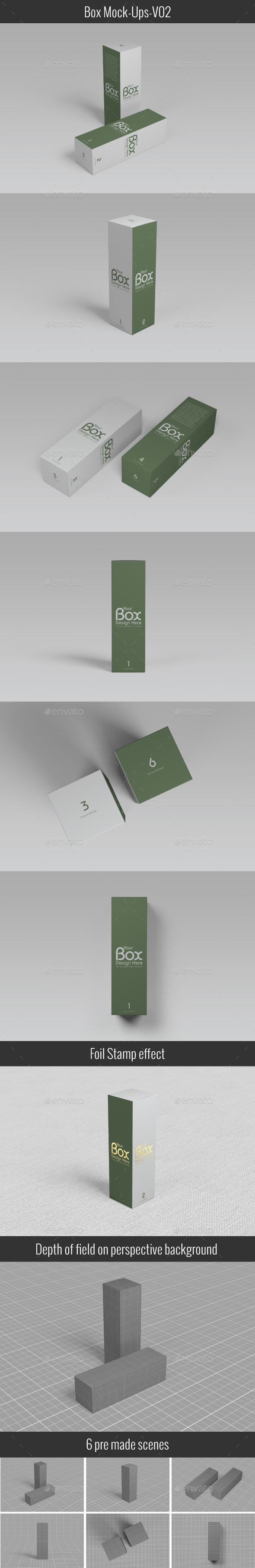 Package Box Mockups V-02