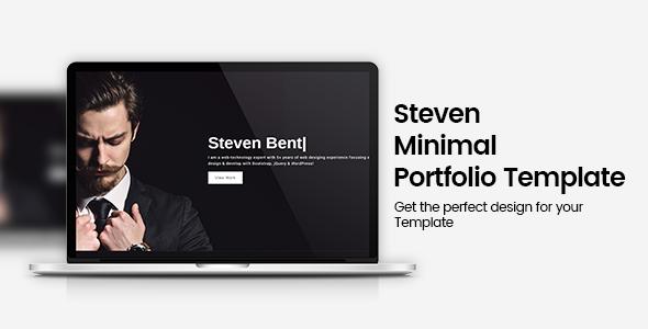 Steven Minimal Portfolio Template
