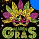 Mardi Gras Multipurpose Event Flyer Template