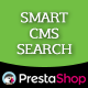 Prestashop Smart CMS Search - CodeCanyon Item for Sale