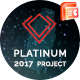 PLATINUM - 2017 Project Business & Investor Presentation Template - GraphicRiver Item for Sale