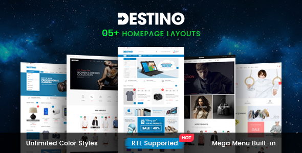 Destino – Multipurpose Responsive Magento2 Theme |  Digital Store | Fashion Store