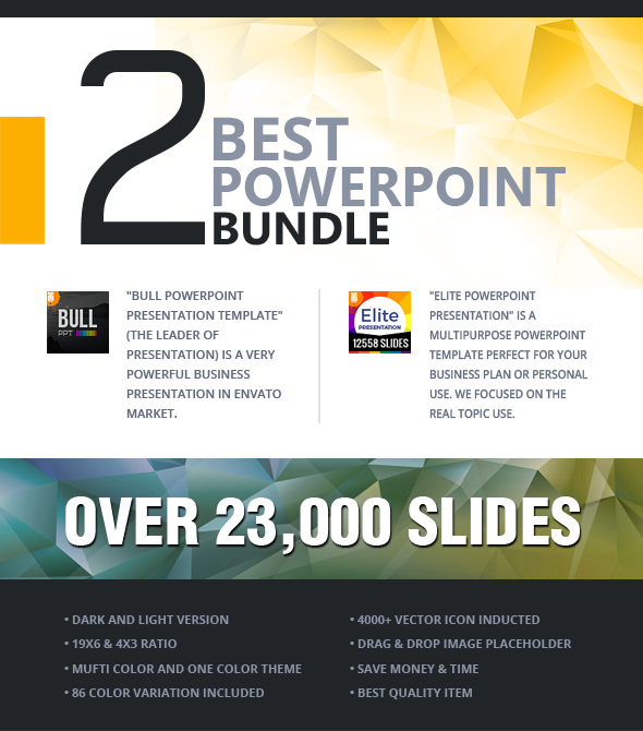 2 in 1 powerpoint presentation bundle by graycells graphic 2 in 1 powerpoint presentation bundle toneelgroepblik Image collections