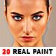 20 Realistic Paints Photoshop Action - GraphicRiver Item for Sale