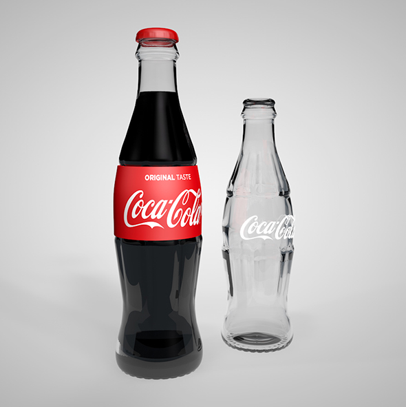 Coca Cola Bottle - 3DOcean Item for Sale