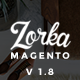 ZORKA – Wonderful Fashion eCommerce Magento Themes Nulled