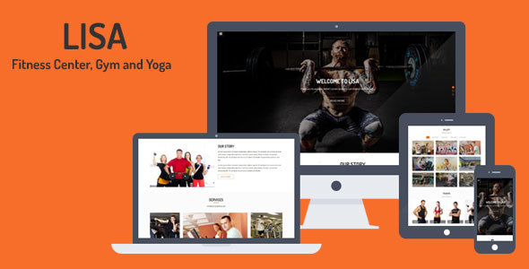 Lisa – Fitness Center, Gym and Yoga Template