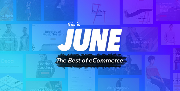 June – Multi-Purpose eCommerce Template