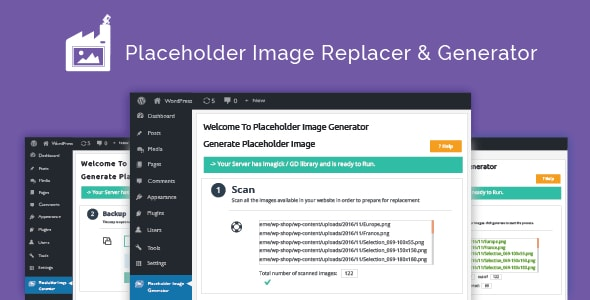 Placeholder Image Generator and Replacer for WordPress Themes - CodeCanyon Item for Sale