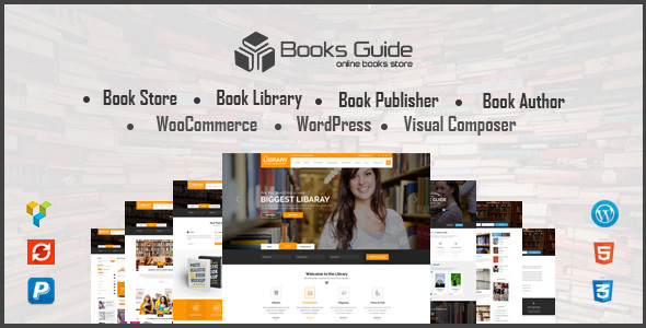 Book Store WordPress Theme - Book Store WP - eCommerce WordPress