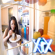Woman Opens Fridge And Takes Bite Of Cake - VideoHive Item for Sale