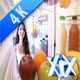 Woman Open Refrigerator - VideoHive Item for Sale