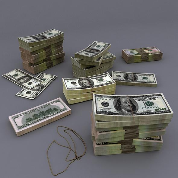 Bills USD - 3DOcean Item for Sale