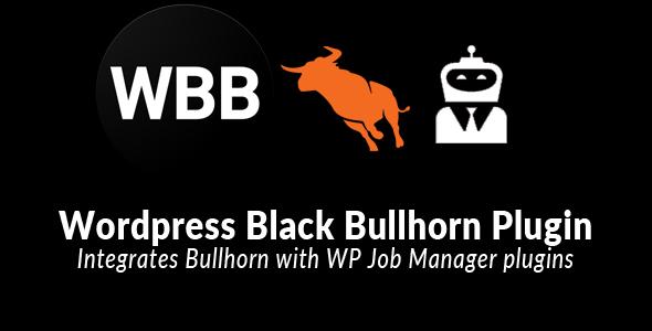 Wp Black Bullhorn -  Wordpress Bullhorn Integration - CodeCanyon Item for Sale