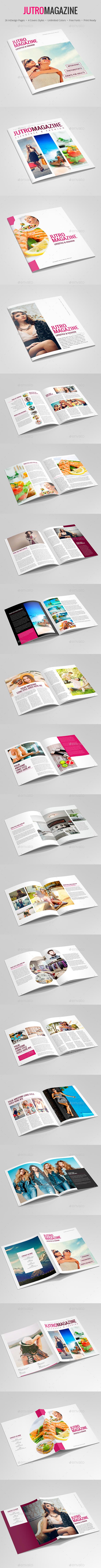 Jutro Magazine – Lifestyle and Fashion - Magazines Print Templates