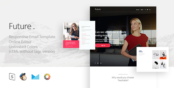 Future – Responsive Email + StampReady Builder
