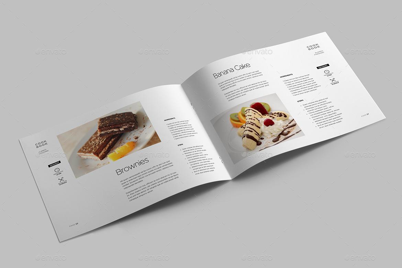 Cookbook Template by meenom | GraphicRiver