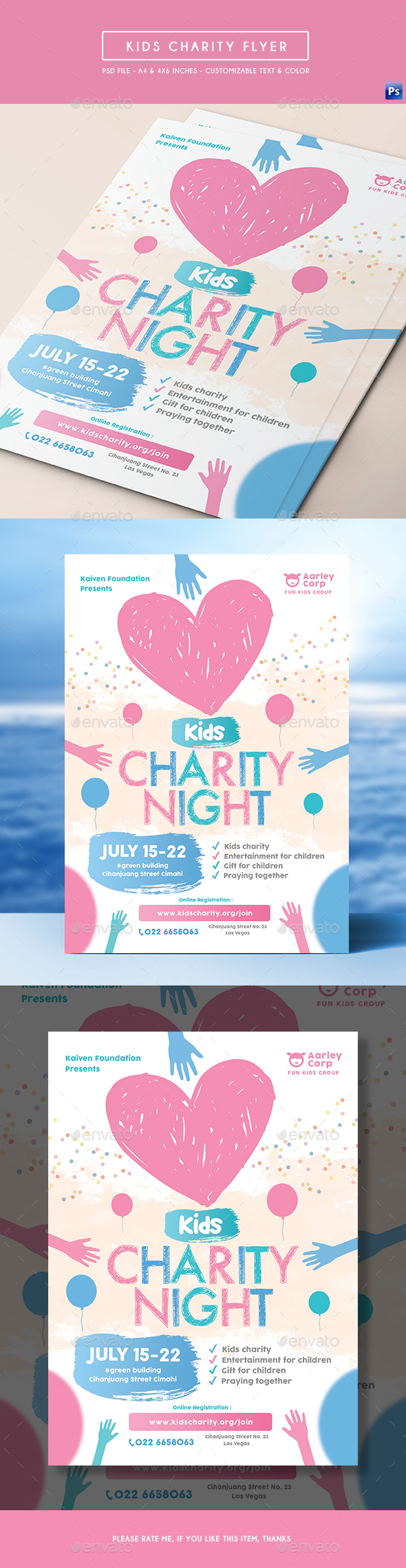 Kids Charity Flyer - Miscellaneous Events